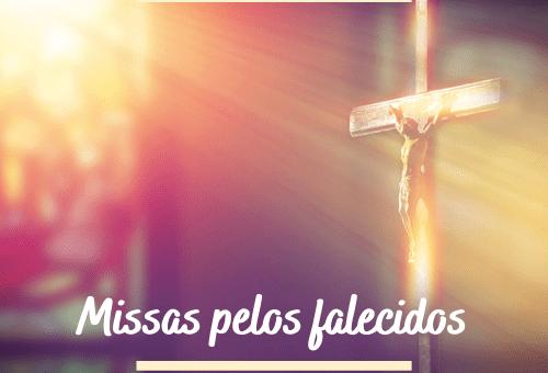 Mês de novembro - Missas pelos falecidos